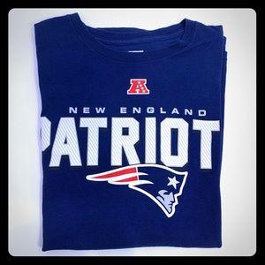 NFL Patriot T-shirt, Size L Team Apparel